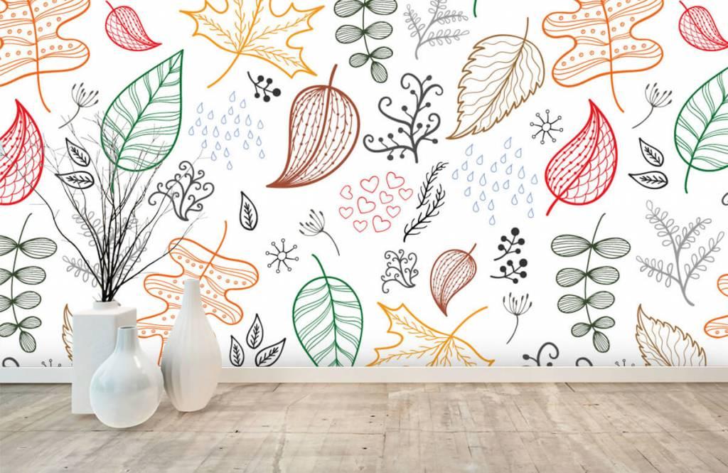 Leaves - Drawn autumn leaves - Hobby room 8