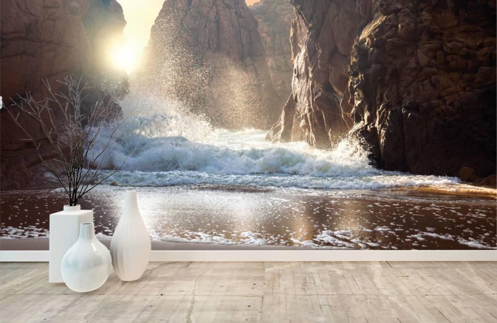 Seas and Oceans - Waves against rocks - Sales department 8