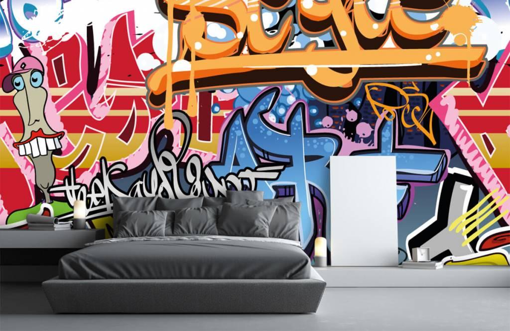 Graffiti - Graffiti text - Teenage room 1
