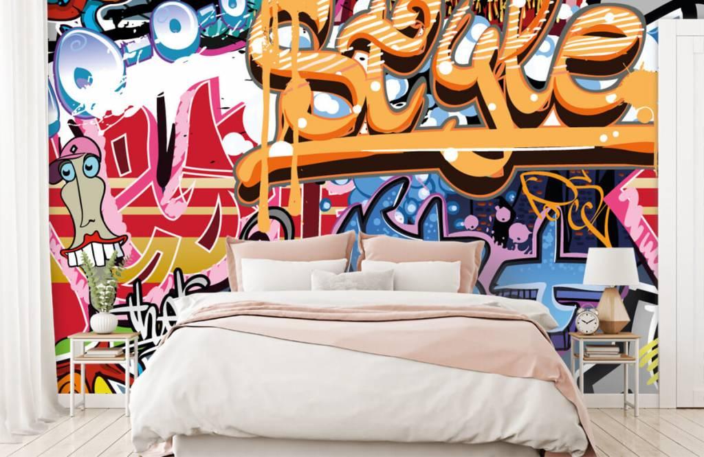 Graffiti - Graffiti text - Teenage room 2