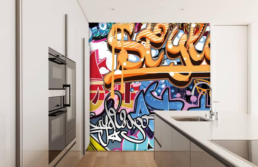 Graffiti - Graffiti text - Teenage room 3
