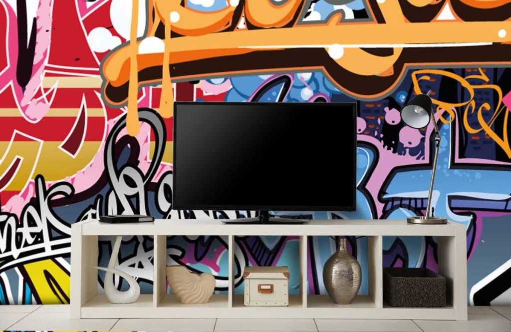 Graffiti - Graffiti text - Teenage room 4