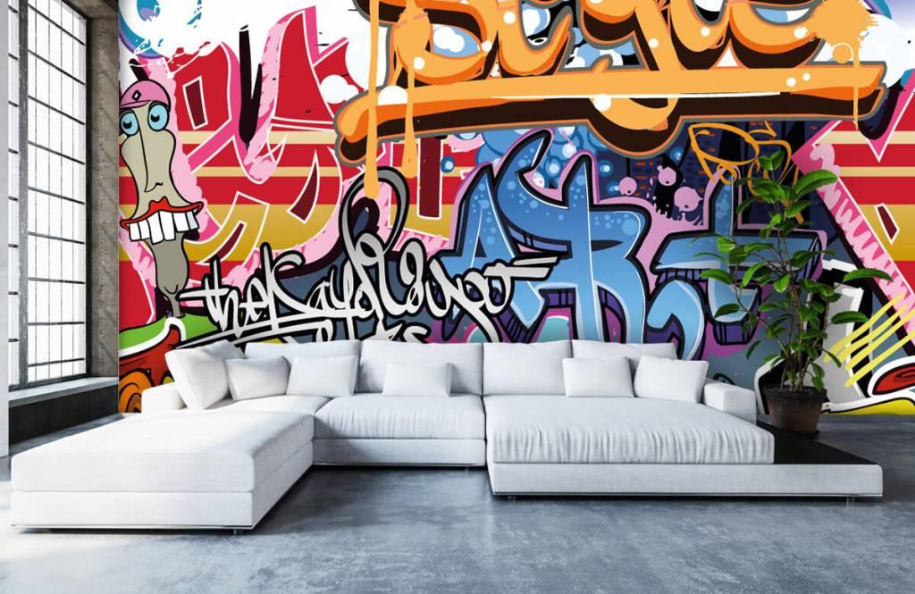 Graffiti - Graffiti text - Teenage room 5