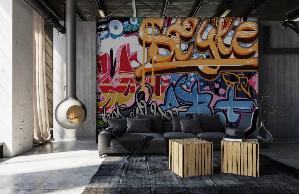 Graffiti - Graffiti text - Teenage room 6