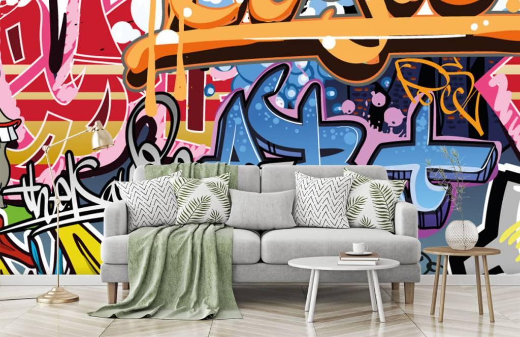 Graffiti - Graffiti text - Teenage room 7
