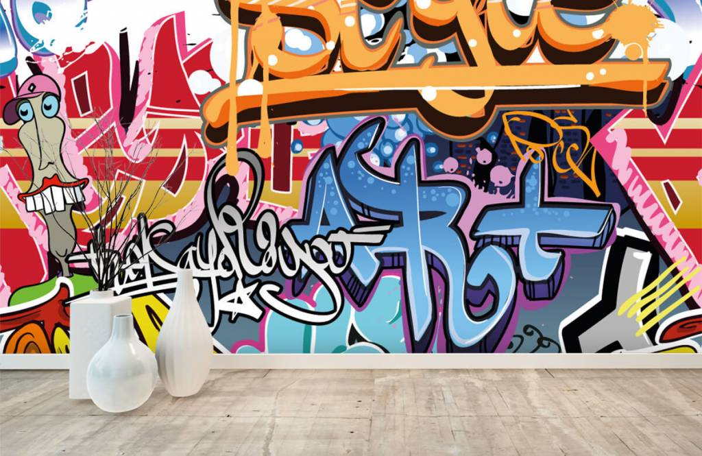Graffiti - Graffiti text - Teenage room 8