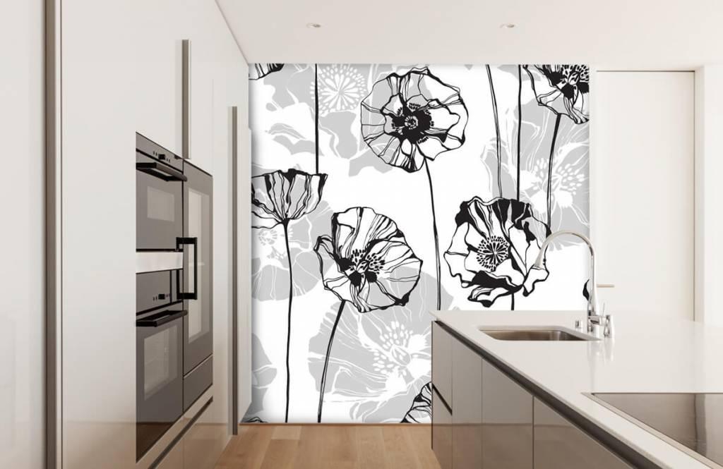 Patterns for Kidsroom - Grafische klaprozen - Kitchen 4