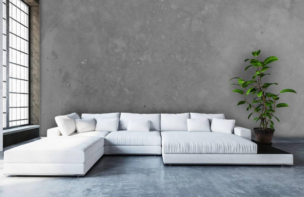 Concrete look wallpaper - Grey concrete - Conference room 1