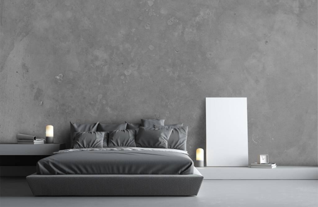 Concrete look wallpaper - Grey concrete - Conference room 3