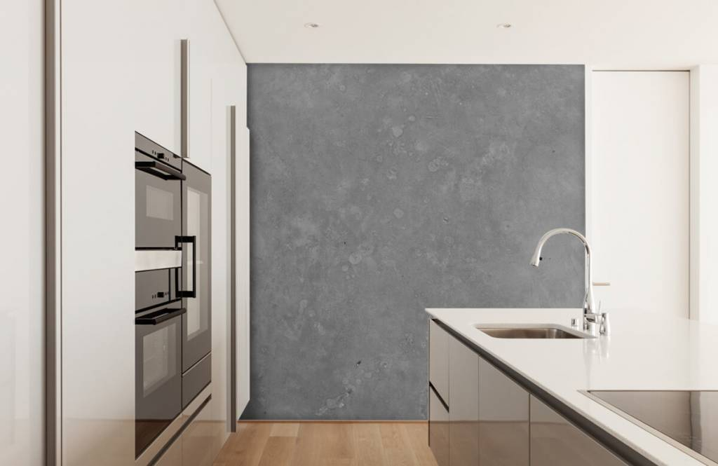 Concrete look wallpaper - Grey concrete - Conference room 4