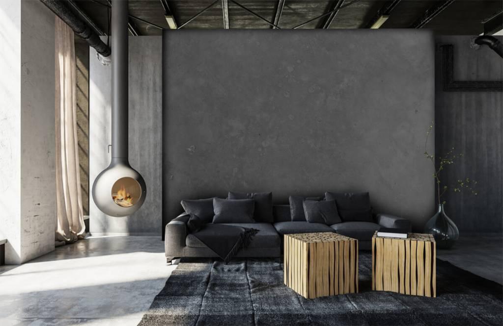 Concrete look wallpaper - Grey concrete - Conference room 6