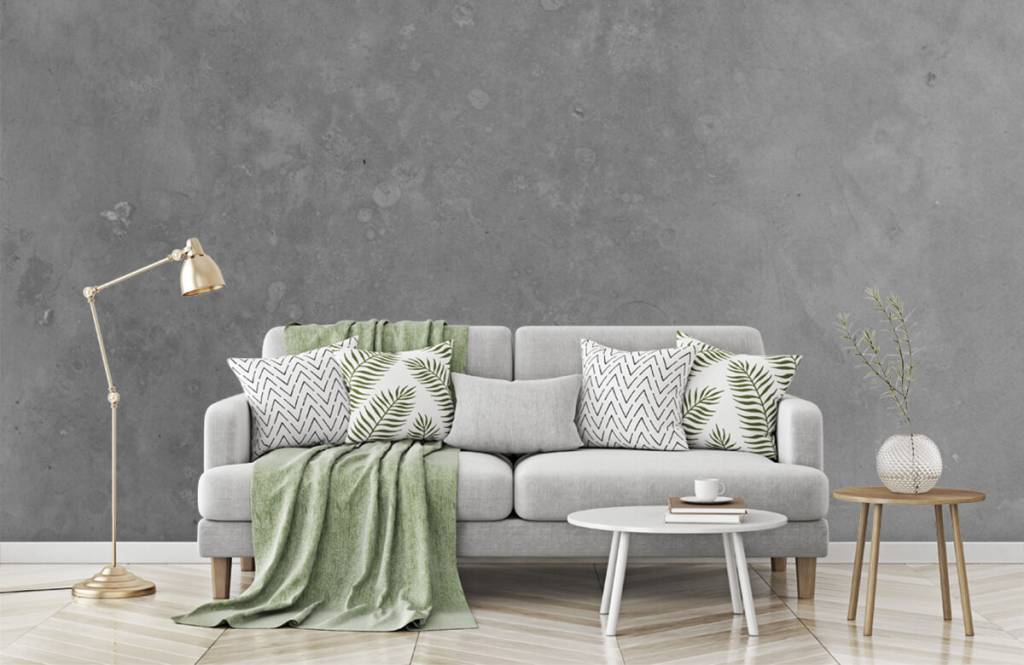 Concrete look wallpaper - Grey concrete - Conference room 7