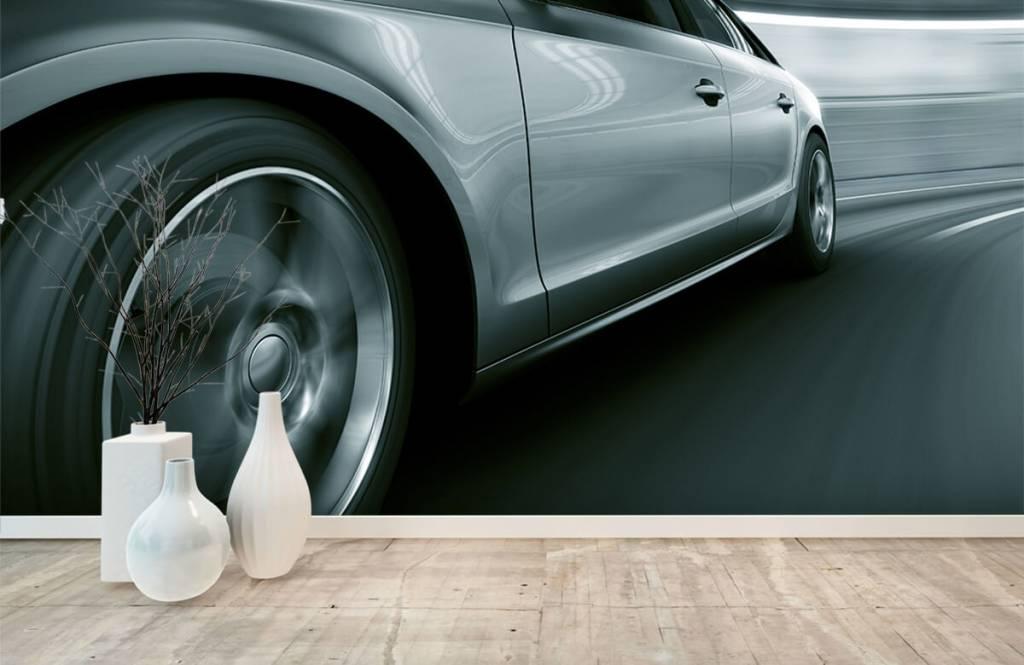 Transportation - Grey car - Showroom 1