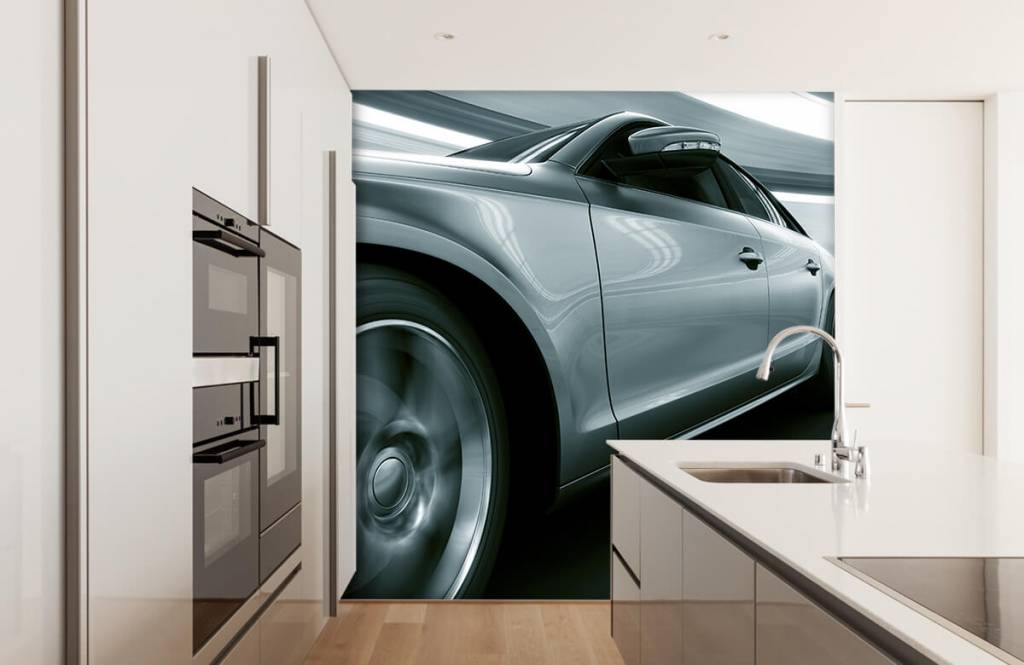 Transportation - Grey car - Showroom 4