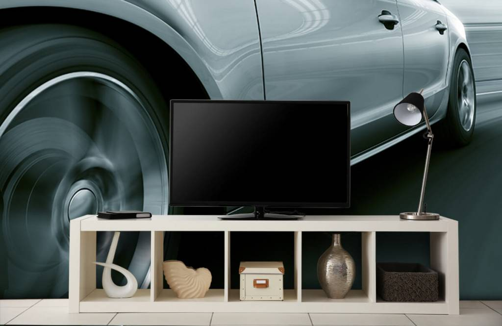 Transportation - Grey car - Showroom 5