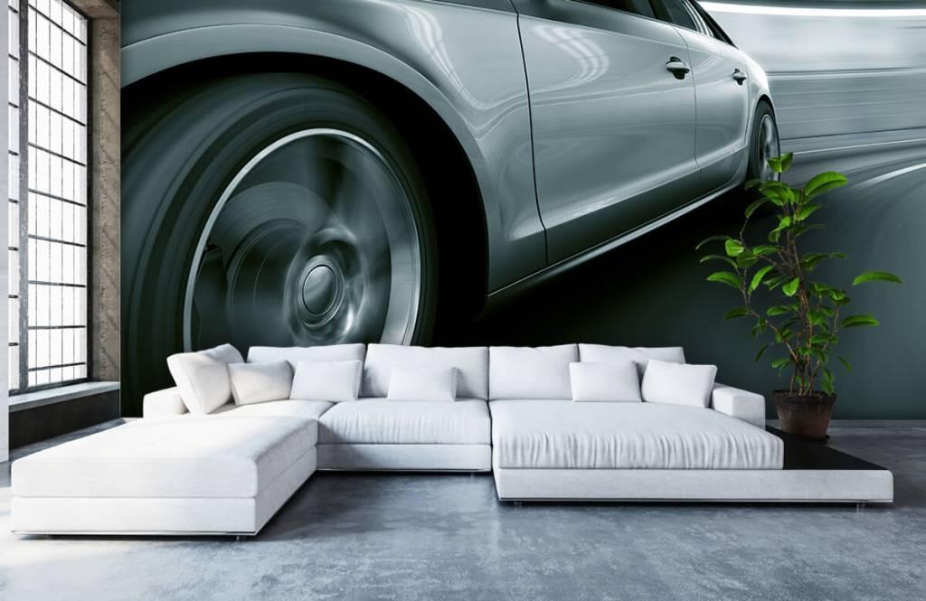 Transportation - Grey car - Showroom 6
