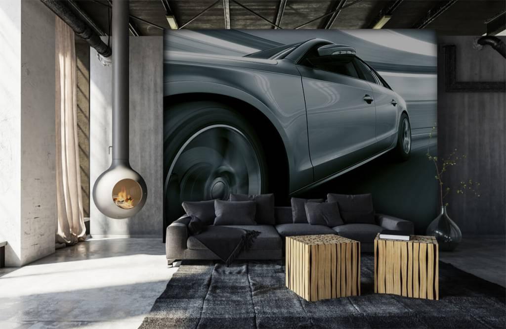 Transportation - Grey car - Showroom 7