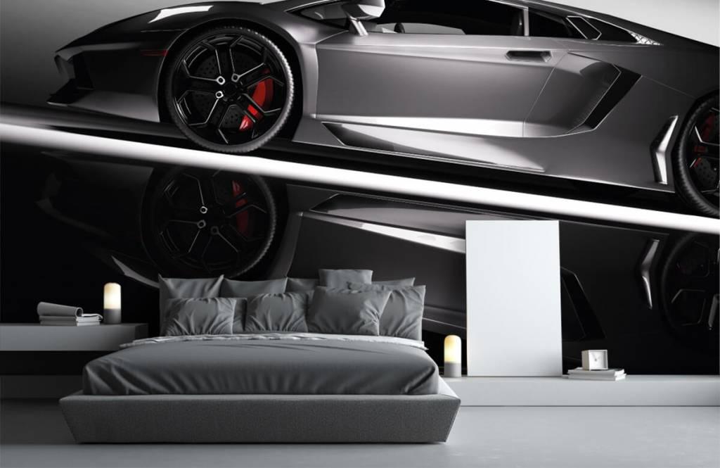 Transportation - Grey Lamborghini - Teenage room 4