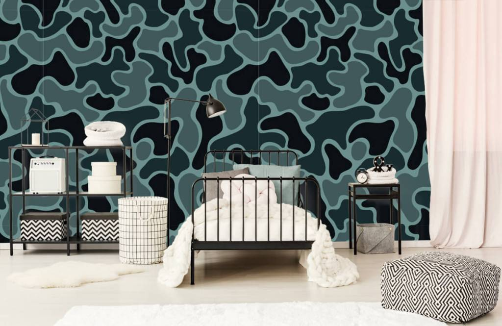 Other - Green grey camouflage - Children's room 1