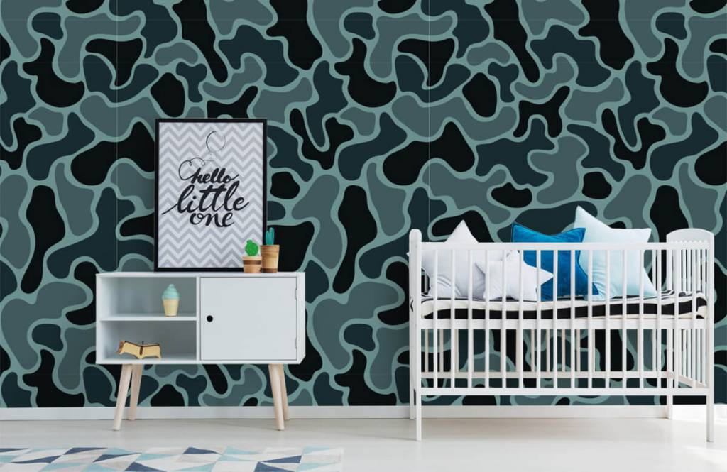 Other - Green grey camouflage - Children's room 2