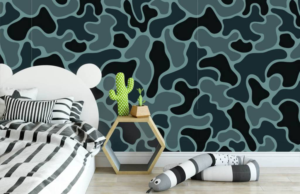 Other - Green grey camouflage - Children's room 3