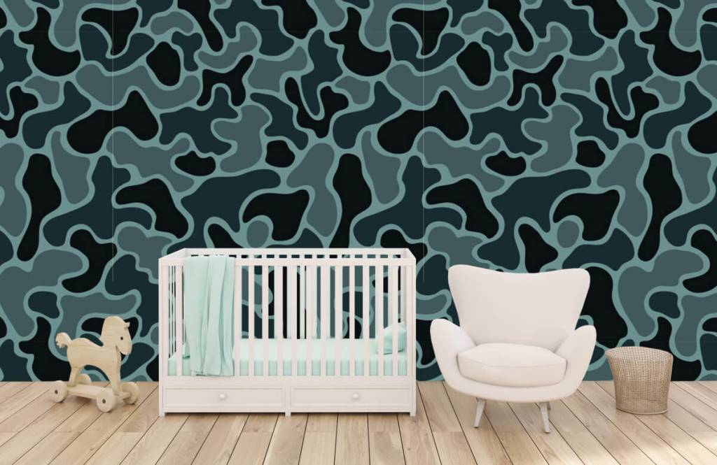Other - Green grey camouflage - Children's room 4