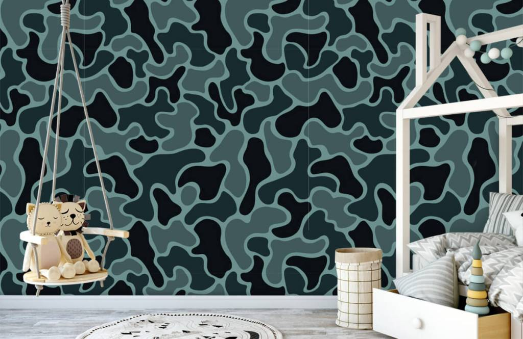 Other - Green grey camouflage - Children's room 5