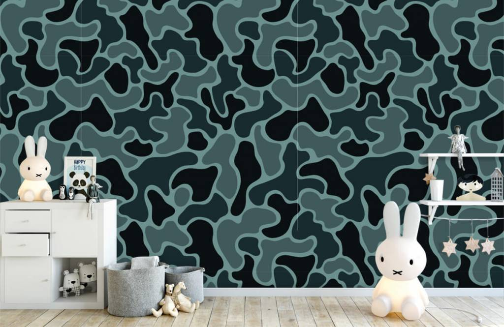 Other - Green grey camouflage - Children's room 6