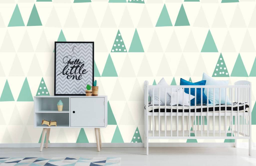 Other - Green triangles - Children's room 1