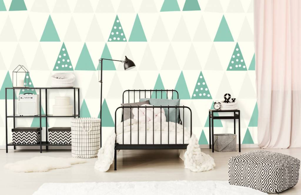Other - Green triangles - Children's room 2