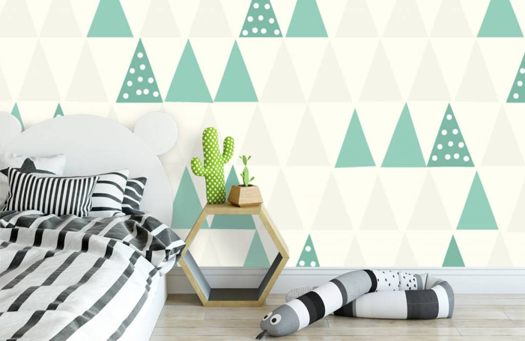 Other - Green triangles - Children's room 3