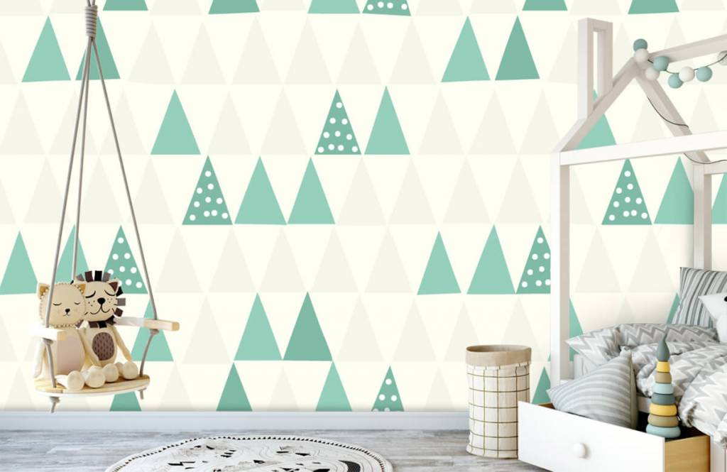 Other - Green triangles - Children's room 4