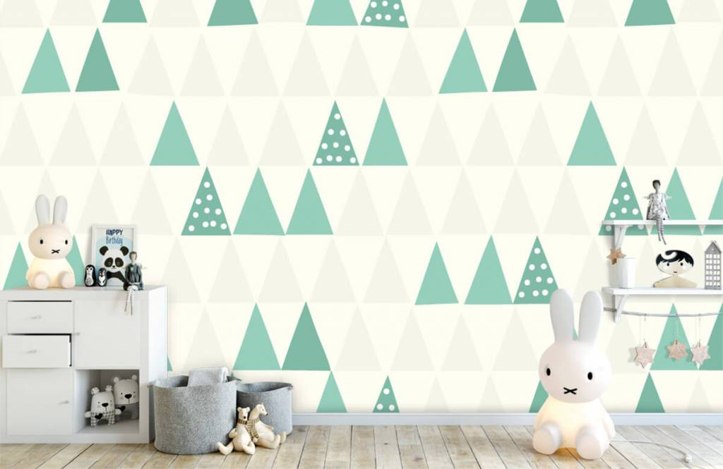 Other - Green triangles - Children's room 5