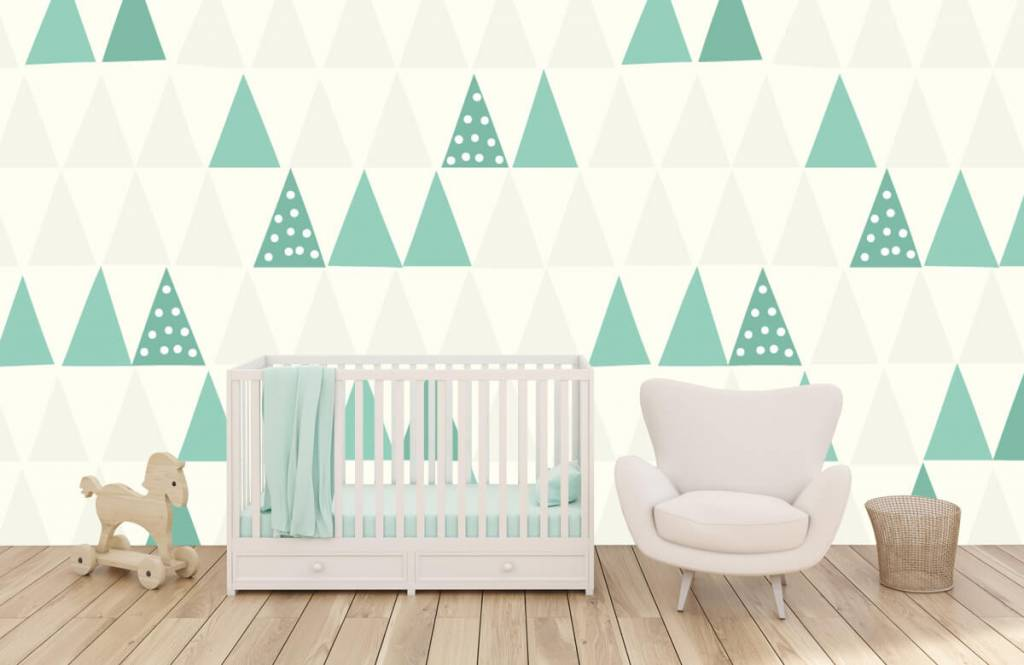 Other - Green triangles - Children's room 6