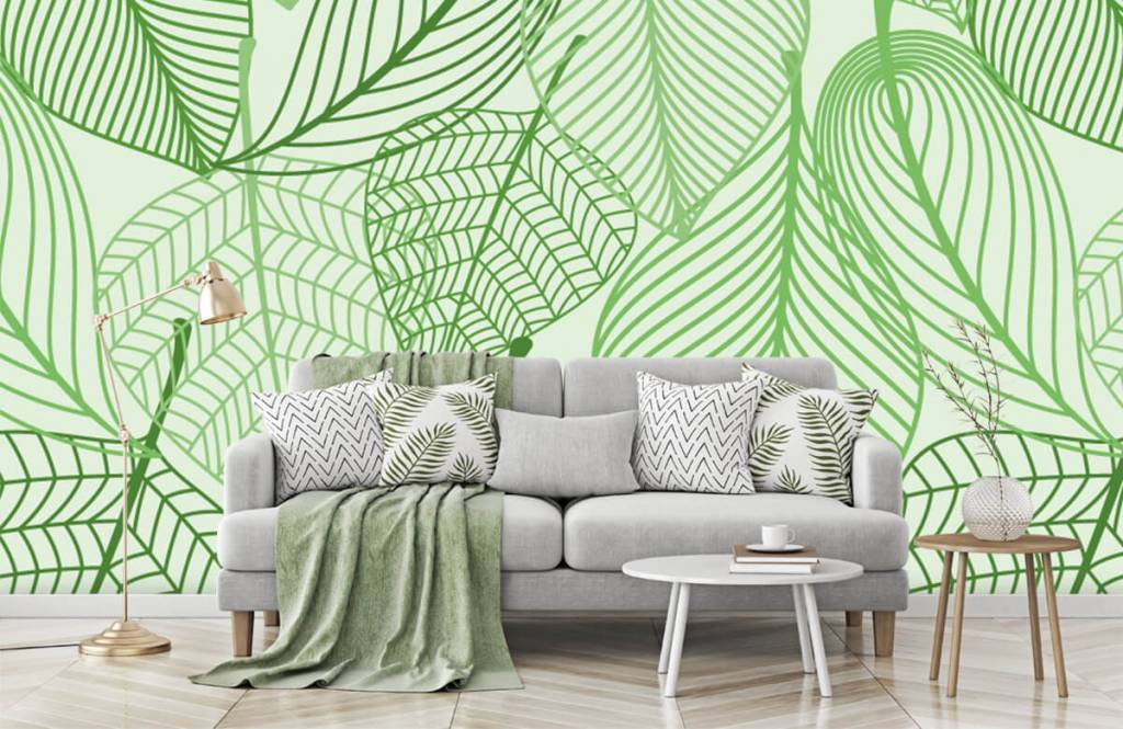 Other - Green leaves drawn - Bedroom 3