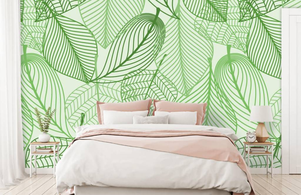 Other - Green leaves drawn - Bedroom 4