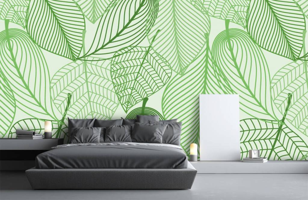 Other - Green leaves drawn - Bedroom 5