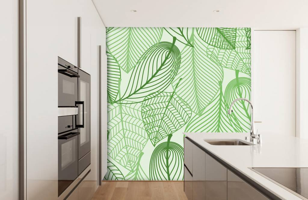 Other - Green leaves drawn - Bedroom 6
