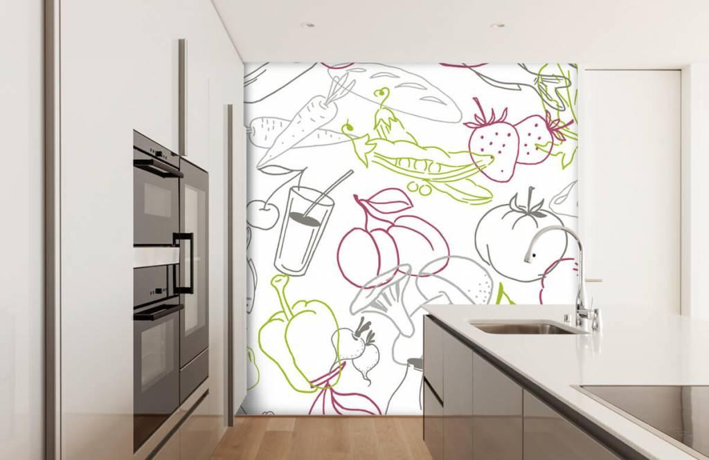 Other - Groente en fruit iconen - Keuken 1