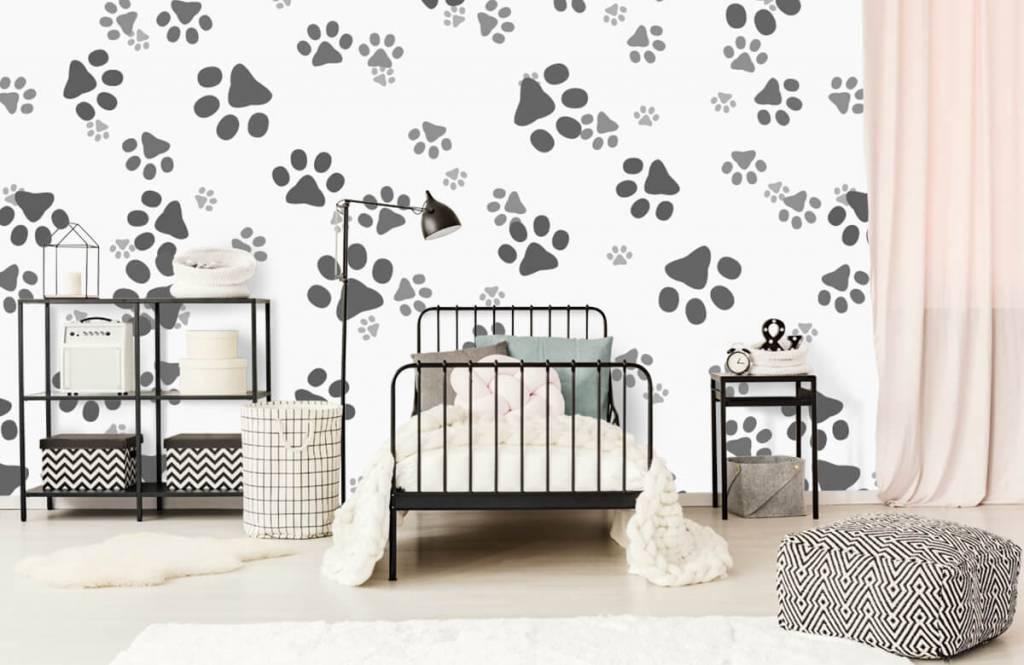 Children's wallpaper - Dog legs - Children's room 2