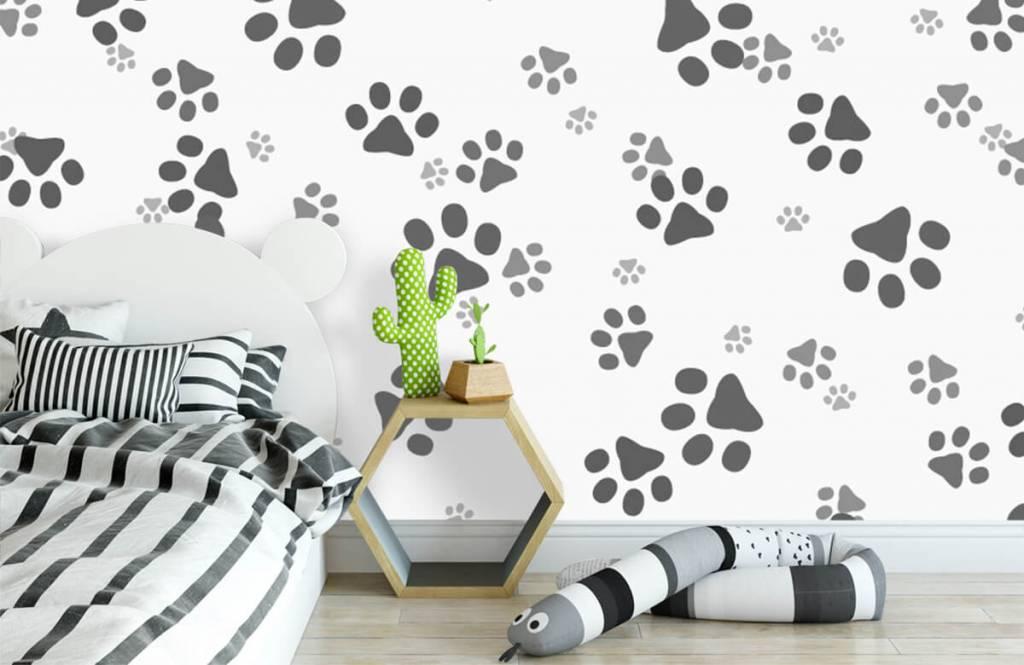 Children's wallpaper - Dog legs - Children's room 3