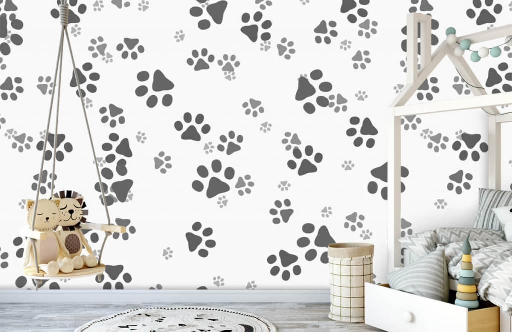 Children's wallpaper - Dog legs - Children's room 4