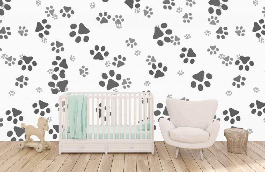 Children's wallpaper - Dog legs - Children's room 5