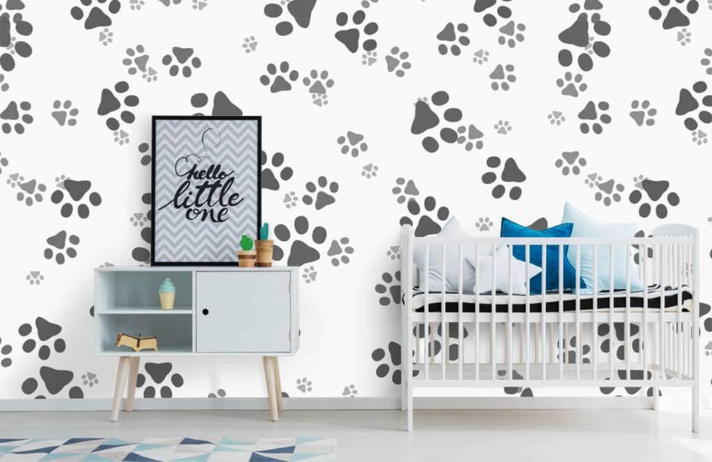 Children's wallpaper - Dog legs - Children's room 6