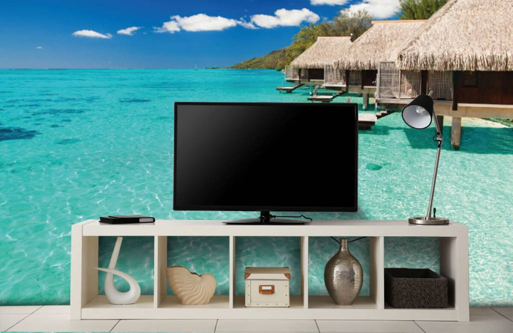 Beach wallpaper - Cottages in the Maldives - Hobby room 6