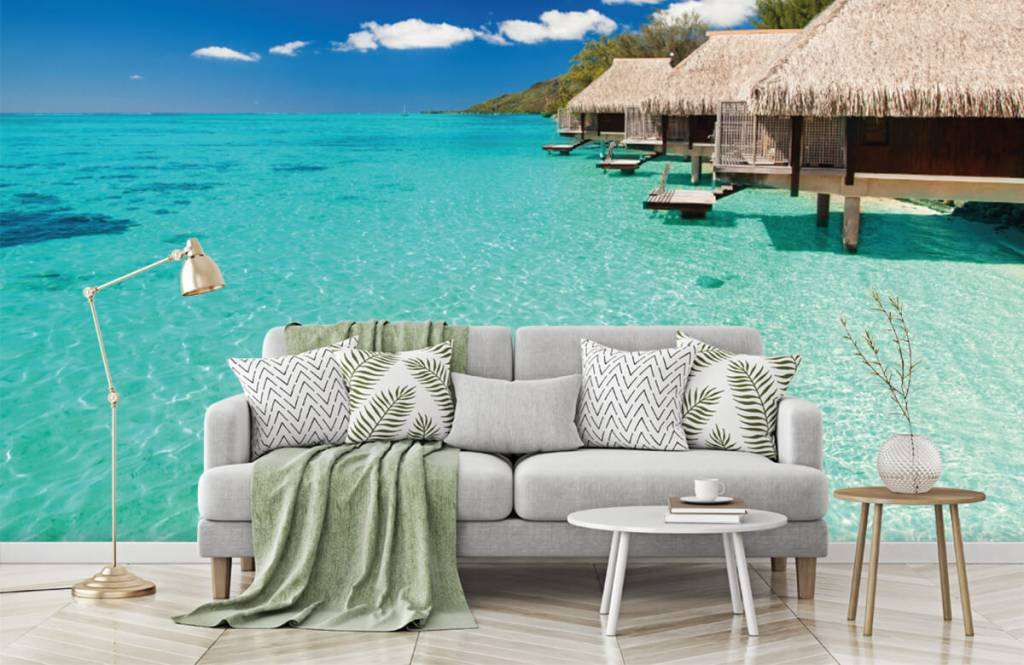 Beach wallpaper - Cottages in the Maldives - Hobby room 8
