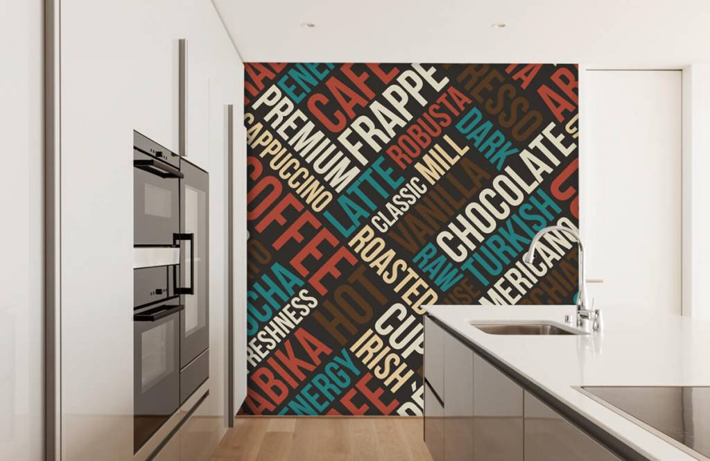 Other - Coffee and chocolate text - Kitchen 1