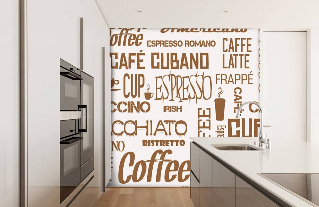 Other - Coffee words - Kitchen 1