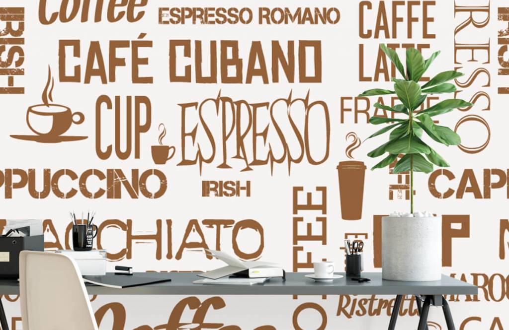 Other - Coffee words - Kitchen 3