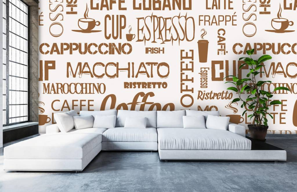 Other - Coffee words - Kitchen 6